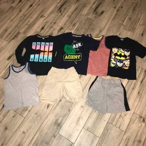 Boys 5t lot 7 pieces mixed items nike old navy